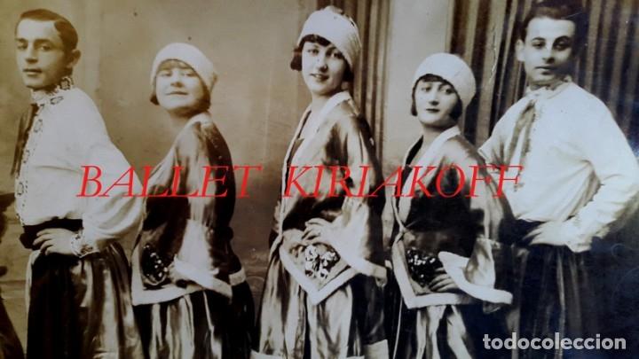 Fotografía antigua: RUSIA - BALLET A. KIRIAKOFF - 1920S - Foto 3 - 173735333