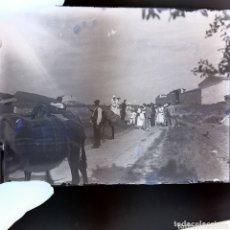 Fotografía antigua: NEGATIVO PLACA DE CRISTAL GELATINO BROMURO PRINCIPIOS DE SIGLO XX. ESPAÑA.. Lote 174295993