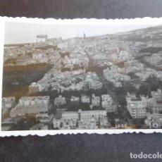 Fotografía antigua: SANTA CRUZ DE TENERIFE VISTA AEREA DE LA CIUDAD AÑOS 40 FOTOGRAFIA 6 X 8,5 CMTS. Lote 174554810