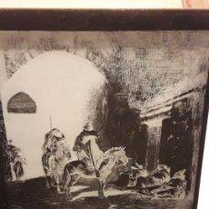 Fotografía antigua: ANTIGUO NEGATIVO DE CRISTAL SOLDADOS MARROQUÍES. Lote 175996078