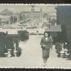 Fotografía antigua: FOTO ANÓNIMA. *BARCELONA* MEDS: 86X135 MMS. FECHADA 1950.. Lote 176559998
