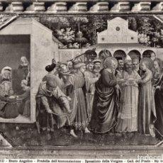 Fotografía antigua: LOTE CUATRO FOTOGRAFÍAS ANDERSON (ROMA) PREDELA DE LA ANUNCIACIÓN DEL BEATO ANGÉLICO. Lote 176777647