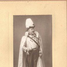 Fotografía antigua: CABALLERO DE LA ORDEN DEL SANTO SEPULCRO, 1915 APROX. FOTO: NAPOLEÓN, BARCELONA.. Lote 178593020