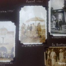 Fotografía antigua: ÁLBUM - 1935 - ARISTOCRACIA - LA CORUÑA, SANTIAGO, SANTANDER, BARCELONA, FERROL, BAYONA, COVADONGA... Lote 178624336