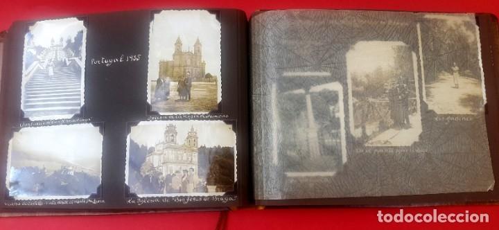 Fotografía antigua: ÁLBUM - 1935 - ARISTOCRACIA - La Coruña, Santiago, Santander, Barcelona, Ferrol, Bayona, Covadonga.. - Foto 20 - 178624336