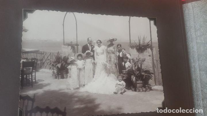 Fotografía antigua: ÁLBUM - 1935 - ARISTOCRACIA - La Coruña, Santiago, Santander, Barcelona, Ferrol, Bayona, Covadonga.. - Foto 31 - 178624336