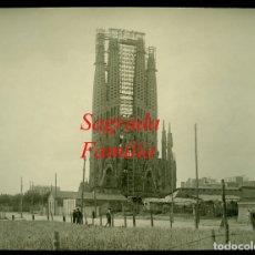 Fotografía antigua: GAUDÍ - SAGRADA FAMILIA - 1920. Lote 179392211