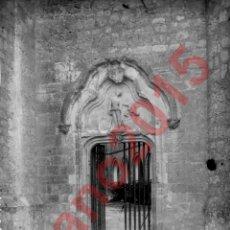 Fotografía antigua: CASTILLO DE BELMONTE, CUENCA 1930 - NEGATIVO DE CRISTAL - FOTOGRAFIA ANTIGUA. Lote 180190082