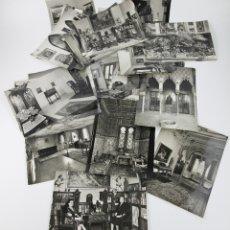 Fotografía antigua: AGUSTÍ CENTELLES - LOTE DE 35 FOTOGRAFÍAS DEL INTERIOR DE UNA CASA TIPO GRANADINA, 18X24 CM.. Lote 181483613