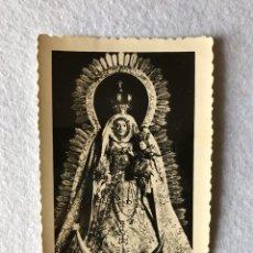 Fotografía antigua: ANTIGUA FOTOGRAFÍA VIRGEN. NUESTRA SEÑORA DE LA CONSOLACIÓN, UTRERA, SEVILLA. Lote 181993822