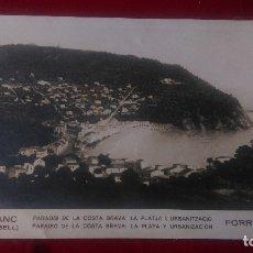 Fotografía antigua: AB-688.- FOTOGRAFIA DE -- LLAFRANC- ( PALAFRUGELL ) FORRELLAD, PARADIS DE LA COSTA BRAVA , 21,5 X 14. Lote 182298983