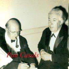 Fotografía antigua: PAU CASALS - TOULOUSE - 1962 . Lote 182471891