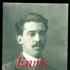 Fotografía antigua: ENRIC CASALS - COMPOSITOR Y VIOLINISTA . Lote 182472071