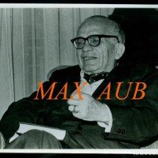 Fotografía antigua: MAX AUB - ESCRITOR - FOTOGRAFIA JOSE VALLS . Lote 183067162