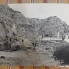 Photographie ancienne: PURULLENA GRANADA VISTA DE LAS CUEVAS 27 X 39 CMTS. Lote 183741728