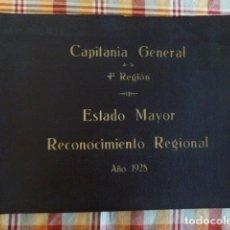 Fotografía antigua: ALBUM CAPITANIA GENERAL DE LA 4ª REGION ESTADO MAYOR 1928 RECONOCMIENTO PIRINEO DE LERIDA LLEIDA . Lote 183815230