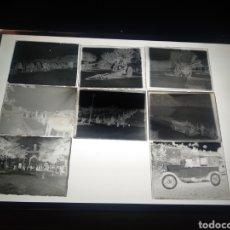 Fotografía antigua: LOTE 8 PLACAS GELATINO BROMURO 1930. FAMILIA BARCELONA. VARIOS LUGARES Y PAISAJES.. Lote 184251023
