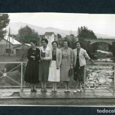 Fotografía antigua: FRONTERA. CERDANYA. BOURG-MADAME. 31/7/1956. Lote 184488062