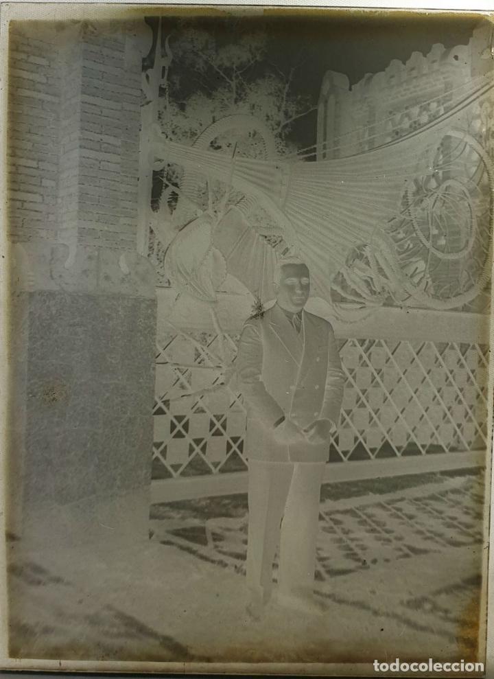 Fotografía antigua: COLECCIÓN DE 186 FOTOGRAFÍAS EN PLACAS DE CRISTAL. CAJAS ORIGINALES. SIGLO XX. - Foto 7 - 184506442