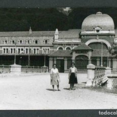 Fotografía antigua: HUESCA. CANFRANC. ESTACIÓN. 22/7/1960. Lote 279409568