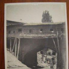 Fotografía antigua: FOTO ORIGINAL DE BENNY JOHNSON. MAR CANAL. LA INDIA. HACIA 1940.. Lote 186086786