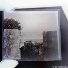 Fotografía antigua: 2 PLACAS GELATINO-BROMURO EN NEGATIVO AÑO 1900 FUENTERRABIA.. Lote 187094131