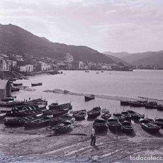 Fotografía antigua: COSTA BRAVA. PORT DE LA SELVA. PRECIOSA IMAGEN. BARCAS. C. 1925. Lote 187410177