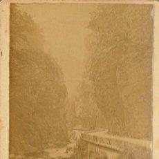 Fotografía antigua: FOTOGRAFIA DE LA GRANE-CHARTREUSE (LA GRAN CARTUJA). Lote 187616915