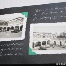 Fotografía antigua: MÉXICO, ÁLBUM CON MÁS DE 120 FOTOS DE VIAJE POR MÉXICO EN 1941 DE UNA ESPAÑOLA HIJA DE EMIGRANTES. Lote 188533235