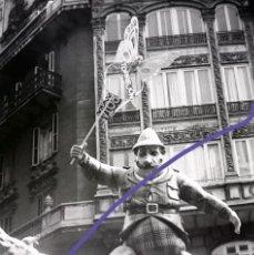 Fotografía antigua: NEGATIVO DE FOTOGRAFIA. FALLA. CLICHÉ. FALLAS DE VALENCIA. AÑOS 70.. Lote 188811933