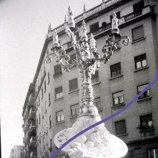 Photographie ancienne: NEGATIVO DE FOTOGRAFIA. FALLA. CLICHÉ. FALLAS DE VALENCIA. AÑOS 70.. Lote 188812825