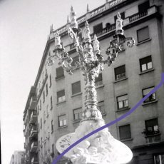 Photographie ancienne: NEGATIVO DE FOTOGRAFIA. FALLA. CLICHÉ. FALLAS DE VALENCIA. AÑOS 70.. Lote 188812885