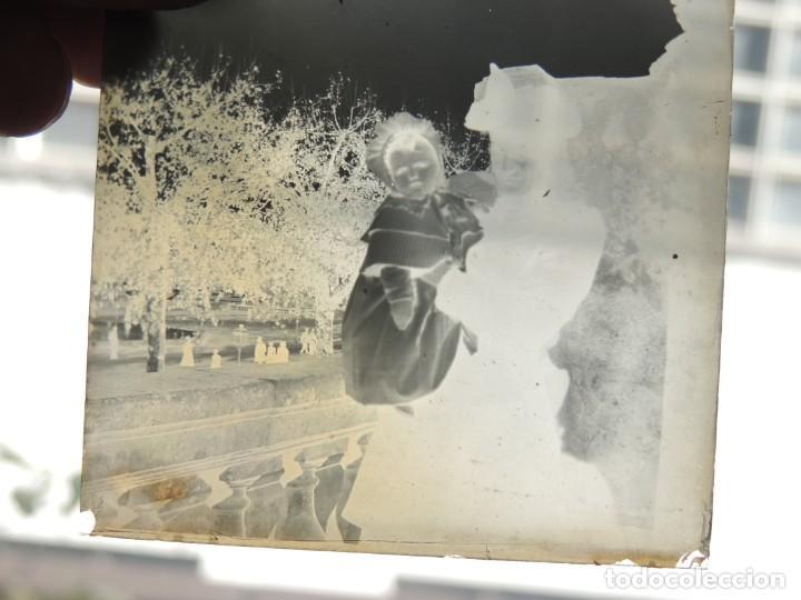 Fotografía antigua: 7 negativos cristal lumiere 1900 - Foto 3 - 190396936