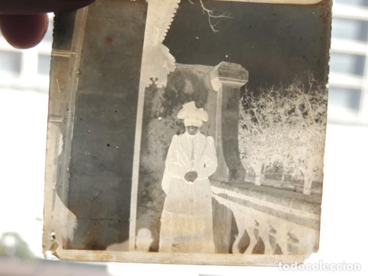 Fotografía antigua: 7 negativos cristal lumiere 1900 - Foto 4 - 190396936