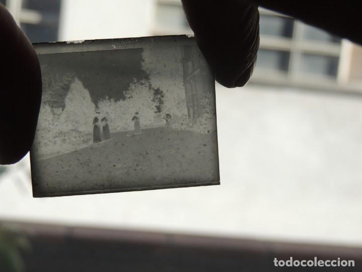 Fotografía antigua: 7 negativos cristal lumiere 1900 - Foto 9 - 190396936