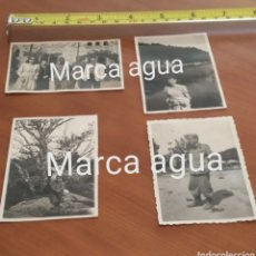 Fotografía antigua: FOTO FECHADA SANTA FE DEL MONTSENY AÑOS 40, 1946 FRANCO , VESTIMENTA MILITAR FRANCO. Lote 190520970