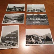 Fotografía antigua: FOTO FECHADA EXCURSIÓN POR EL BOSQUE BELLVER DE CERDAÑA , AÑOS 50 BOSC BELLVER DE CERDANYA.. Lote 190480367