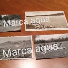 Fotografía antigua: FOTO FECHADA BELLVER DE CERDAÑA, CERDANYA , LAGO MALNIU , LAGO MERANGES .. Lote 190481307