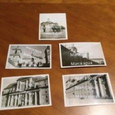 Fotografía antigua: FOTO FECHADA MADRID AÑOS 40 , MONASTERIO DEL ESCORIAL Y HERMITA SAN ANTONIO DE LA FLORIDA. FRANCO. Lote 190491033