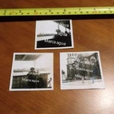 Fotografía antigua: FOTO FECHADA CATEDRAL DE CÁDIZ , FUENTE DE CÁDIZ AÑOS 40 , TAMAÑO 6 CM X 6 CM. 1945 FRANCO. Lote 190492581