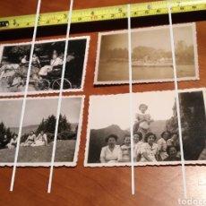 Fotografía antigua: FOTO FECHADA LA MOLINA GIRONA , PUIGCERDÀ , RIBES DE FRESSER AÑOS 40 BARCELONA TAMAÑO 8,5 CM X 6 CM.. Lote 190757315