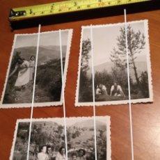 Fotografía antigua: FOTO FECHADA RIBES DE FRESSER , RIBAS DE FRESER , GIRONA GERONA , AÑOS 40 BARCELONA TAMAÑO 8,5 X 6. Lote 190758305
