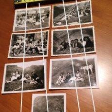 Fotografía antigua: FOTO FECHADA VALL DE NÚRIA , VALLE DE NÚRIA DIA DE SANT GIL AÑOS 40. Lote 190760361