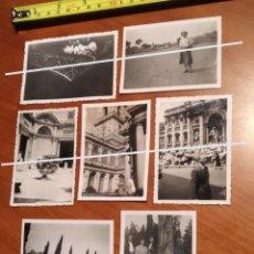Fotografía antigua: FOTO FECHADA ROMA , CARACALLA , CATACUMBAS , OSTIENSE , TREVI , VATICANO , ITALY EUROPE , EUROPA. Lote 190766910