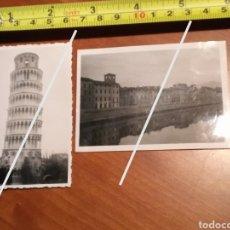 Fotografía antigua: FOTO FECHADA ROMA PISA , TORRE DE PISA ITALY , EUROPE ITALIA EUROPA , AÑOS 50. Lote 190767968