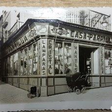 Fotografía antigua: ANTIGUA FOTO PUBLICIDAD COMERCIO DE BAEZA JAEN. Lote 191079045