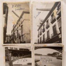 Fotografía antigua: SEVILLA 1926 LOTE DE 7 FOTOGRAFIAS. Lote 191384985