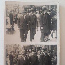 Fotografía antigua: RETRATO DOS HOMBRES AÑOS 30 PARIS FOTOGRAFIA MINUTERO. Lote 191401956