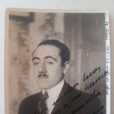 Fotografía antigua: RETRATO HOMBRE AÑOS 20 FOTOGRAFIA. Lote 191403252