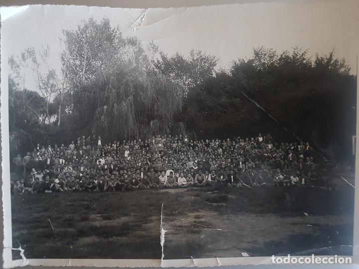 RETRATO ORLA COLEGIAL AÑOS 60 FOTOGRAFIA 23 X 17 CTMS (Fotografía Antigua - Gelatinobromuro)